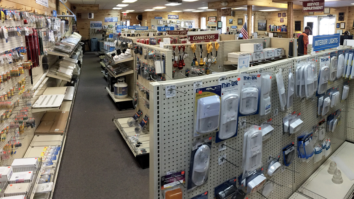 RVs part and accessories at Tarpley RV in Durango, CO